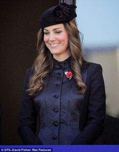 Image result for kate remembrance day 2013