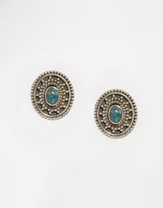 Image 1 of Child Of Wild Banjara Stud Semi Precious Earrings