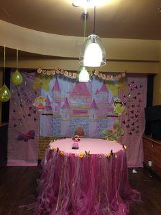 Fairy princess backdrop Fairy Princesses, Backdrops, Cake, Home Decor, Decoration Home, Room Decor, Food Cakes, Cakes, Tart