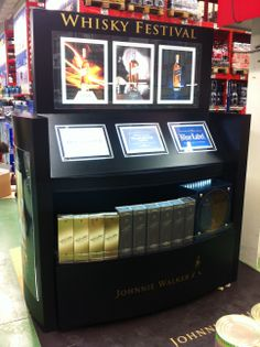 [2013] display system for JOHNNIE WALKER FAMILY