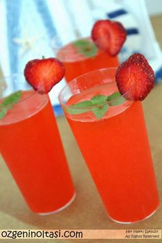 Çilekli Limonata / Özge'nin Oltası (Strawberry Lemonade)