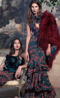 Johanna Ortiz Fall Winter 2016 Couture Fashion, Runway Fashion, High Fashion, Fashion Show, Fashion Outfits, Fashion Design, Looks Style, Elegant Dresses, Beautiful Outfits