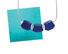 Color Combos: Teal and Lapis | #Silpada Blue Grotto Necklace