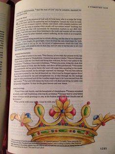 Bible Journalin I Timothy 4 Bible Prayers, Bible Scriptures, Bible Quotes, Scripture Art, Bible Art, Timothy Bible, 2 Timothy, Bible Study Journal, Art Journaling