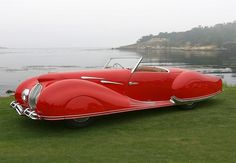 cray delahaye (175)  — at the Concours d'Elegance