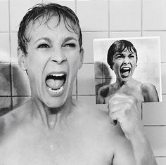 Jamie Lee Curtis Recreates Classic 'Psycho' Scene