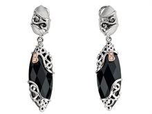 Bellarri Madam B Black Onyx Dangle Earrings