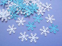 fiocchi di neve coriandoli inverno natale decorazione tavola matrimonio invernale cristalli ghiaccio scrapbooking compleanno lasoffittadiste