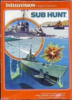 Sub Hunt cover - pong ping ping. I loved that sound