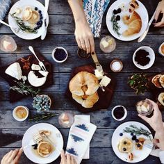 #breakfast #croissant #coffee