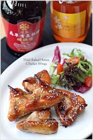 Cuisine Paradise | Singapore Food Blog | Recipes, Reviews And Travel: Huiji Baked Honey Chicken Wings