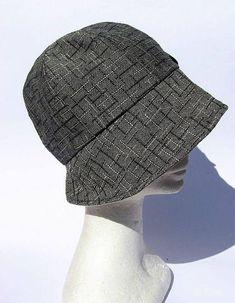 Cappello stile cloche stile anni 30 dona elegante tessuto