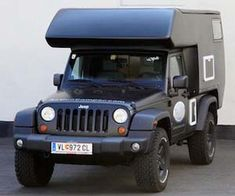 Jeep Action Camper. Do need for zombie apocalypse.