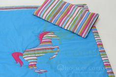 Konny komplet na leżakowanie / Horse blanket & pillow