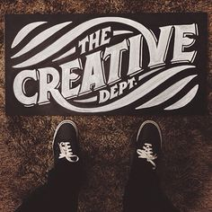 The Creative Dept.  //  #Typography #GraphicDesign #Inspiration