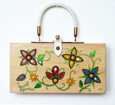Enid Collins of Texas Jewel Garden Box Bag by niwotARTgallery, $160.00