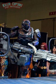 Big Gun - Spartan 2 from Halo: Reach (Sean Shaw) #cosplay   Comikaze 2012