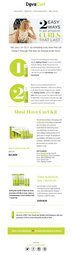 2 Easy Ways to Get Gorgeous Curls That Last!