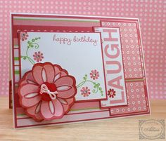 ctmh brushed paper card | C1456+Close+To+My+Heart+Flower+Birthday+Card.jpg