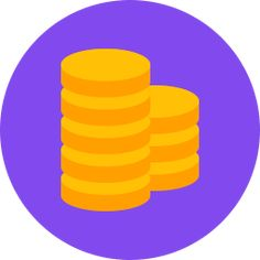 Free coins flat icon & Download free icons for commercial use Coin Icon, Got Game, Free Gems, All Icon, Coins, Hacks, Followers, Flat, Pinterest Board