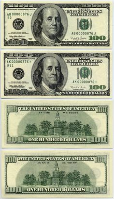 Impeccable image throughout printable play money $100