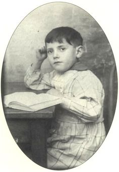 7 year old Marcel Altermann was sadly murdered in the gas chamber in Auschwitz on August 21, 1942.