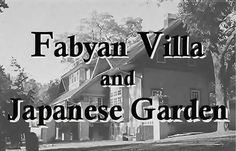 Geneva: Fabyan Villa Museum & Japanese Garden ~ Both located in the Fabyan Forest Preserve, 200 acres along the Fox River in Geneva and once part of George and Nelle Fabyan's private estate.