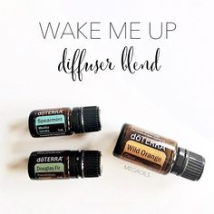 Up late. Up early. This is heaven. 2-3 drops each of Spearmint, Douglas Fir, and…