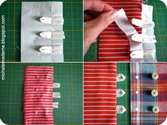 How to make button loops--lots of different ones, great links to tutorials