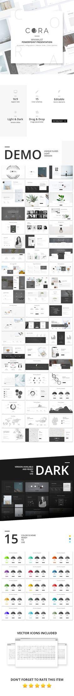 Cora PowerPoint Presentation Template