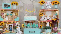 Festa Frozen Fever - Produção Infinita Arte for Baby: http://www.infinitaarte.com.br/