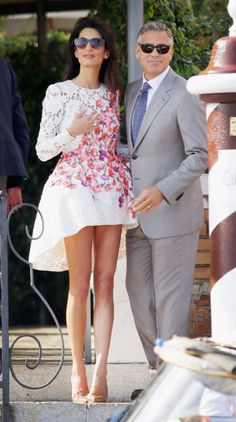 George Clooney and Amal Alamuddin might just be the best-looking married couple... ever.