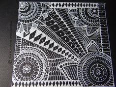 Gel pen doodle by Redrobynsart on DeviantArt