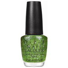 This O. P. I Green Nail Lacquer is inspired by Kermit the Frog! :D