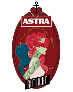 Astra Beer Labels