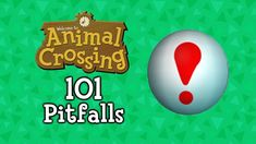 A humorous and nostalgic look at Animal Crossing players, animals, and maybe even a vegetable, falling into 101 pitfalls. The pitfalls span across five games. Animal Crossing Gamecube, City Folk, Free Day, New Leaf, Christmas Bulbs, Video Games, Make It Yourself, Animals, Videogames