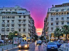 Thessaloniki, Greece, Street View, Greece Country
