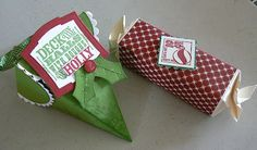 KB Papercraft: Christmas Boxes and Tags