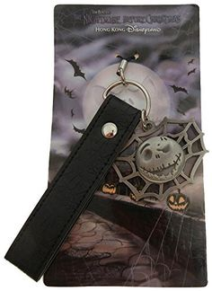 - Officially Licensed Disney Item - The Nightmare Before Christmas - Cell Phone Fob - Features Jack Skellington - Gift-Boxed Product Description Officially Licensed Disney Item. Direct From Disneyland
