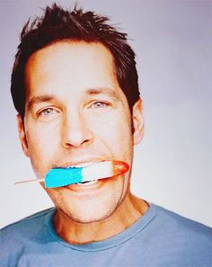 Paul Rudd, making me REALLY want an ice cream man to drive by right now. eff.