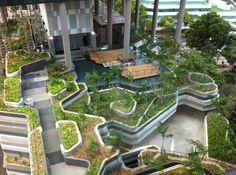 Giardini urbani: Singapore.