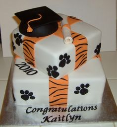 High School Graduation Cake By shelly150 on CakeCentral.com