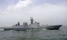 Indian Navy INS Shivalik is a frigate, which is 143 meters in length. It has a displacement of 5300 tons and consists of a complement of 400 naval personnel that include 50 officers and 350 sailors. Indian Navy Ships, People's Liberation Army, Visit Singapore, Merchant Navy, History Of India, Equador, Army & Navy, Small Boats, Submarines