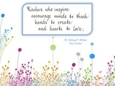 INSPIRING TEACHERS quotes