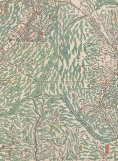 Making Maps: Japanese Maps   Tokugawa Era   1600-1870