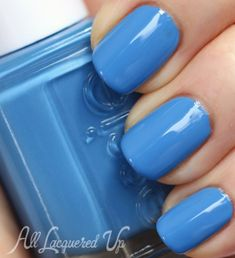 Essie Madison Ave-Hue Spring 2013 Collection Swatches Essie Avenue Maintain is a bright, French blue creme