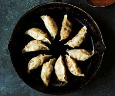 These Vegan Gyoza from V is for Vegan are easy to make and so much better than any you can get out. Plus these are steamed rather than fried!