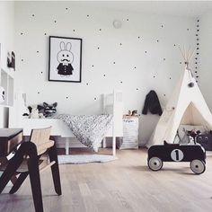 habitación de bebé de estilo nórdico que te enamorará ▲▲▲