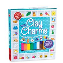 This easy-to-use kit includes supplies for making dozens of super sweet clay charms, from adorable animals to fave foods like hot dogs, cupcakes and cinnamon buns! Step-by-step, actual-size diagrams guide you through rolling, flattening and shaping your clay into delightful designs. Simply add the charm loops, then bake, glaze and assemble your bracelet. Includes a 60-page, full color book with instructions and tips.