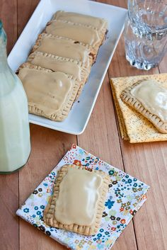 Homemade Maple-Cinnamon Oat Pop Tarts Recipe - Great idea for morning of slumber parties, busy holidays for on-the-go and healthier than the ones you buy!